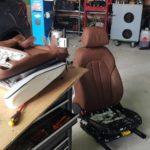Installation von SITZHEIZUNG BMW F15 X5 3.0D 2017